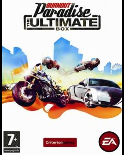 Burnout Paradise the Ultimate Box krabice