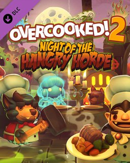 Overcooked! 2 Night of the Hangry Horde krabice