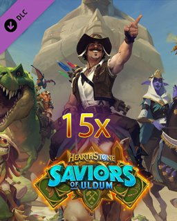 15x Hearthstone Saviors of Uldum Pack krabice