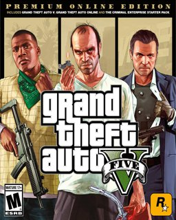 Grand Theft Auto V Premium Online Edition, GTA 5