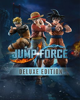 Jump Force Deluxe Edition krabice