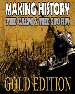 Making History The Calm and the Storm Gold Edition krabice