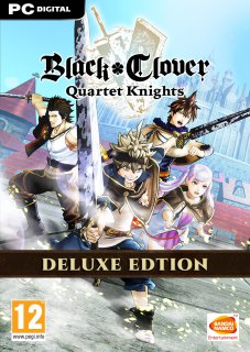 BLACK CLOVER QUARTET KNIGHTS Deluxe Edition krabice
