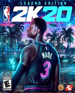 NBA 2K20 Legend Edition krabice