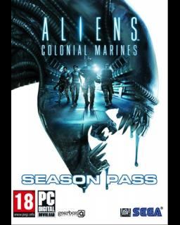 Aliens Colonial Marines Season Pass krabice