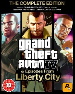 Grand Theft Auto 4 Complete Edition, GTA 4 CE krabice