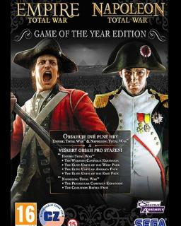 Empire Total War + Napoleon Total War krabice