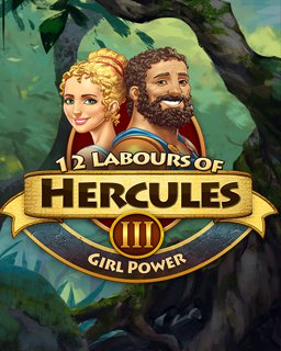 12 Labours of Hercules III Girl Power krabice