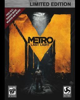 Metro Last Light Limited Edition krabice