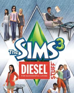 The Sims 3 Diesel krabice