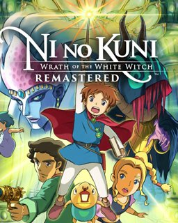 Ni no Kuni Wrath of the White Witch Remastered krabice