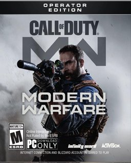 Call of Duty Modern Warfare Operator Edition