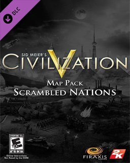 Sid Meiers Civilization V Scrambled Nations Map Pack