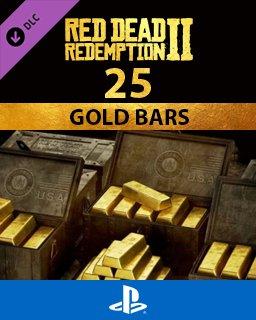 Red Dead Online 25 Gold Bars