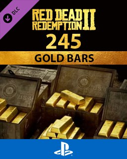 Red Dead Online 245 Gold Bars