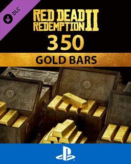 Red Dead Online 350 Gold Bars