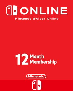 365 Dní Switch Online Membership Individual krabice