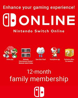 365 Dní Switch Online Membership Family