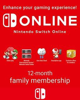 365 Dní Switch Online Membership Family krabice
