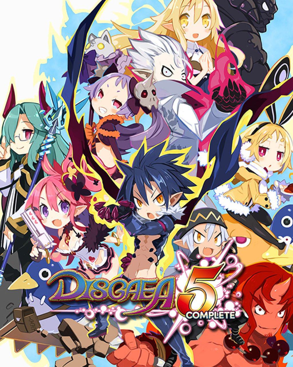 Disgaea 5 Complete krabice