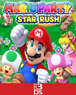 Mario Party Star Rush krabice