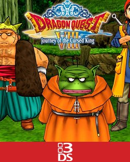 Dragon Quest VIII Journey of the Cursed King krabice