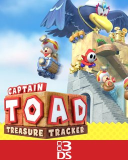 Captain Toad Treasure Tracker krabice