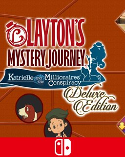 LAYTON's MYSTERY JOURNEY Katrielle and the Millionaires Conspiracy Deluxe Edition