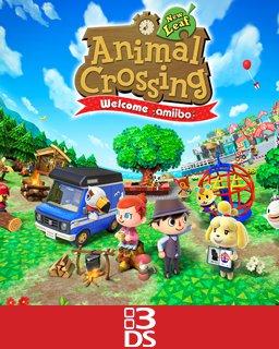 Animal Crossing New Leaf Welcome amiibo krabice