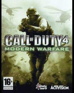 Call of Duty 4 Modern Warfare Steam krabice