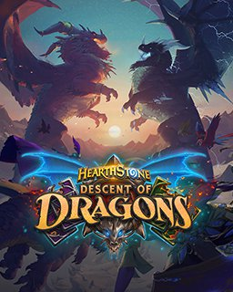 Hearthstone Descent of Dragons Mega Bundle krabice