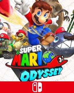 Super Mario Odyssey krabice