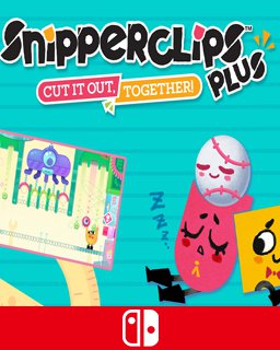 Snipperclips PlusPack Cut it out, together! krabice