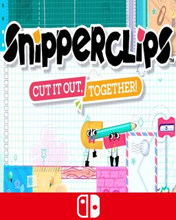 Snipperclips Cut it out, together! krabice