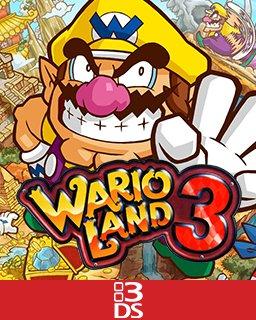 Wario Land 3 krabice