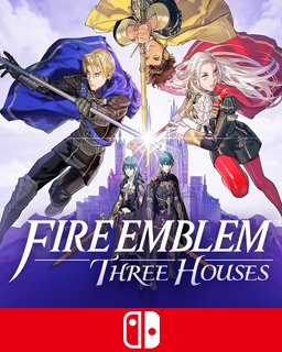 Fire Emblem Three Houses krabice