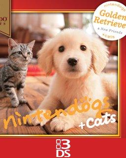 Nintendogs + Cats Golden Retriever + Friends