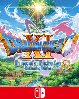 DRAGON QUEST XI S Echoes of an Elusive Age Definitive Edition krabice