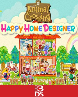Animal Crossing Happy Home Designer krabice