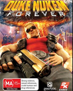 Duke Nukem Forever krabice
