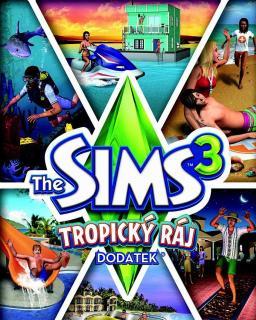 The Sims 3 Tropický Ráj krabice