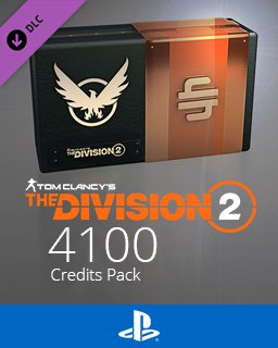 Tom Clancys The Division 2 4100 Premium Credits Pack
