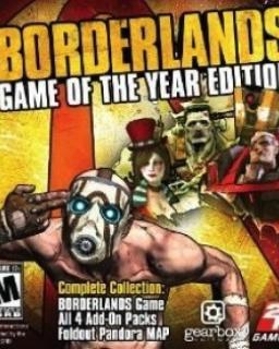 Borderlands GOTY krabice
