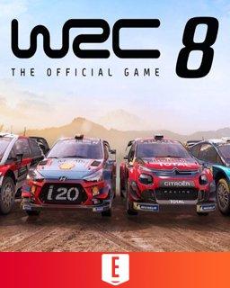 WRC 8 FIA World Rally Championship krabice