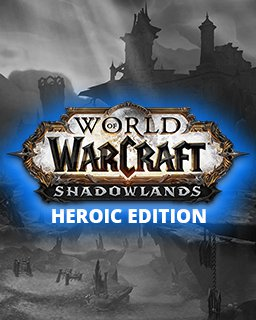 World of Warcraft Shadowlands Heroic Edition krabice