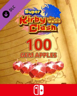 100 Gem Apples dla Super Kirby Clash