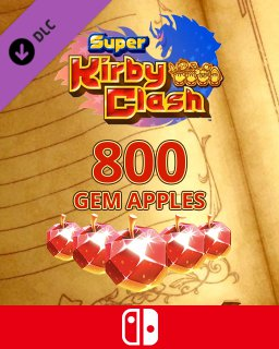 800 Gem Apples dla Super Kirby Clash