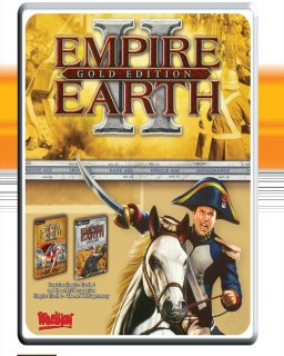 Empire Earth 2 Gold Edition krabice