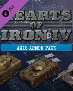Hearts of Iron IV Axis Armor Pack krabice