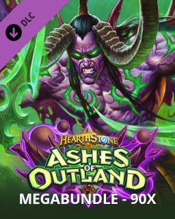 Hearthstone Ashes of Outland Mega Bundle krabice